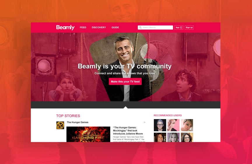 Beamly web